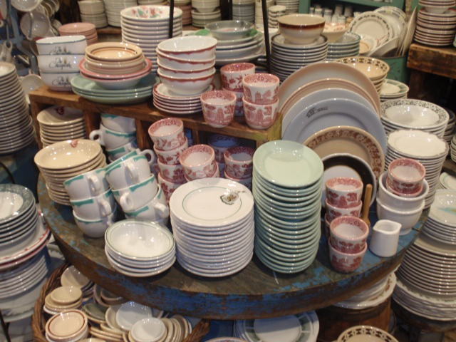 Vintage diner plates. All ... & Retro Dinnerware - Hudson Goods Blog
