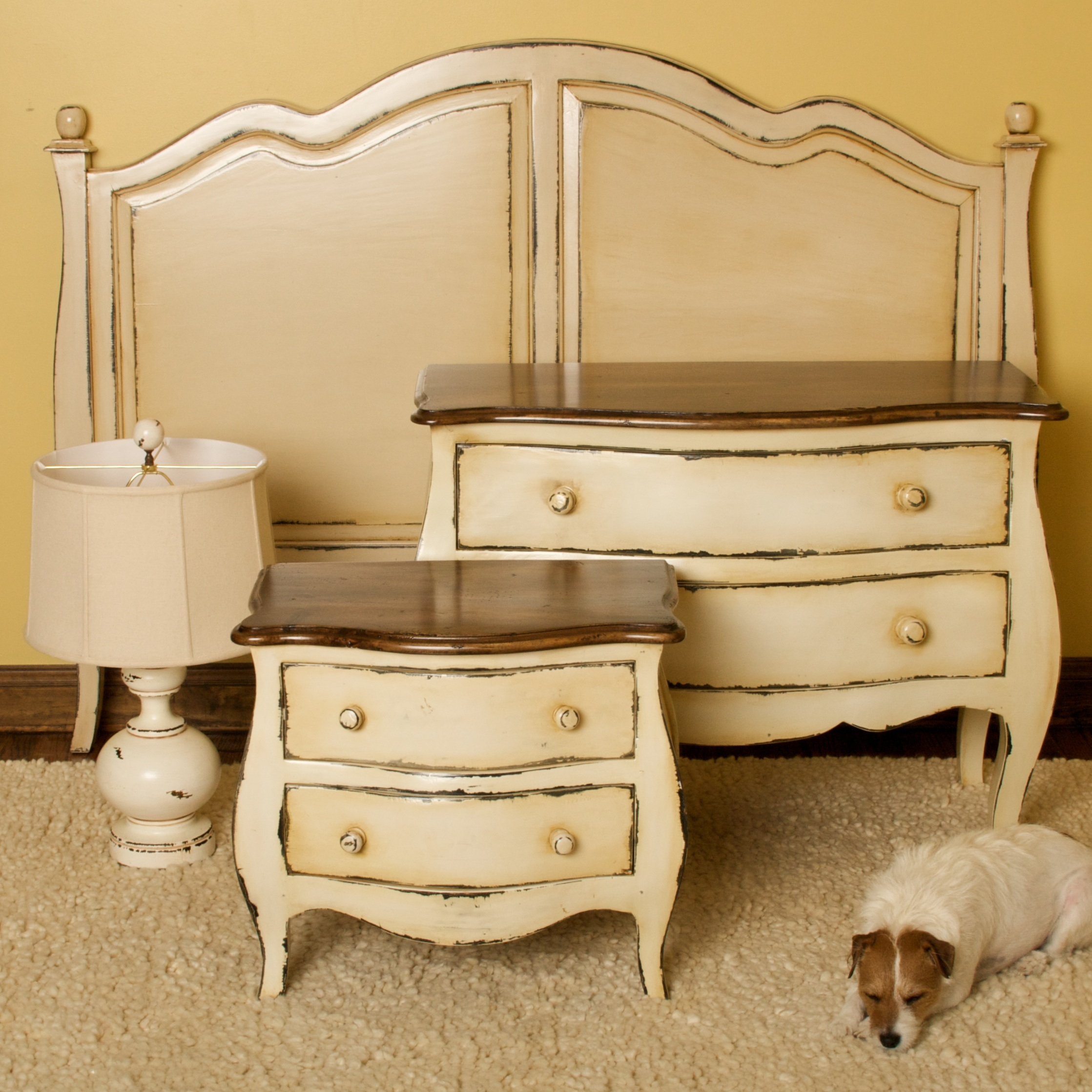 Bombay white bedroom set hudson goods blog - White vintage bedroom furniture sets ...
