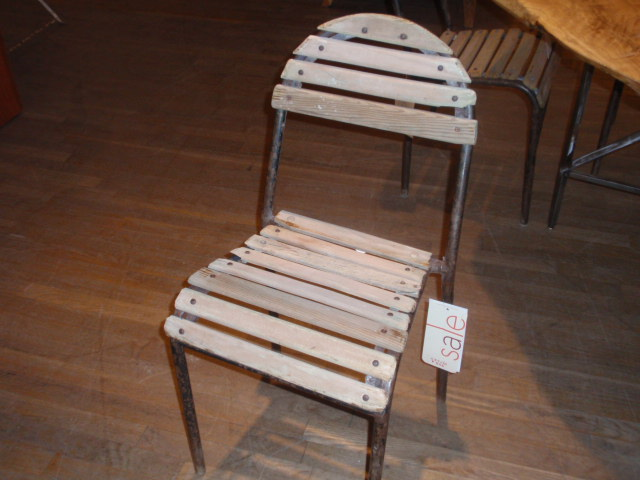 Wood Slat Chairs, Priced At $195 Each