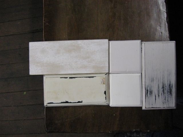 Antique White Paint Finish