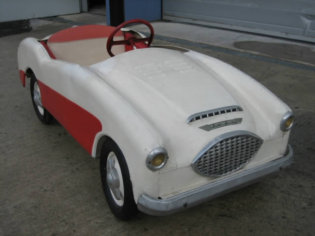 austin healey pedal car when you bought an austin healey they gave you a pedal car for your kids pedal cars pinterest cars kid and an