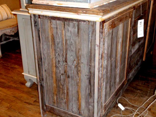 Wood Cupboard and Farmhouse Table - Hudson Goods Blog