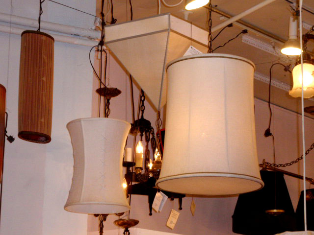 lampshade-lighting lamps white wood pottery barn