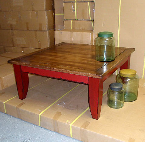square-coffee tables wood pottery barn