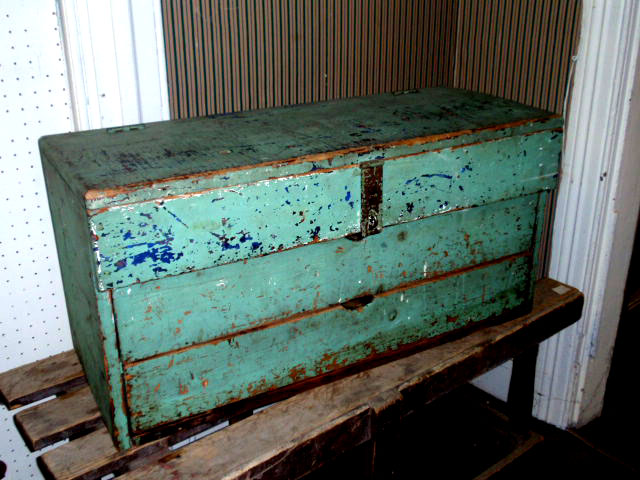 painted vintage furnitureVintage Toolboxes  Hudson Goods Blog