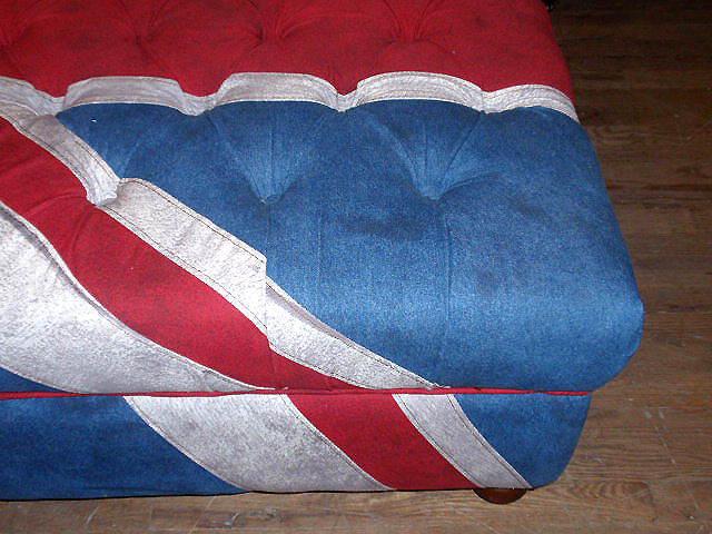 british upholstered furniture sofas ottomans Pottery Barn pillows