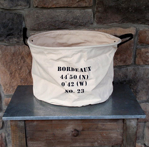 Canvas Storage Bags Large Large Canvas Bag $39 at
