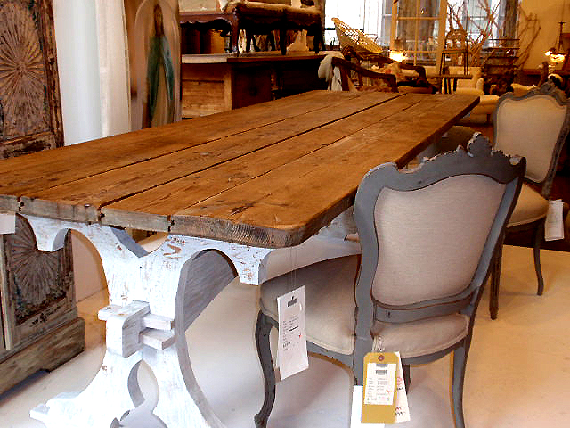Pine Wood Farmhouse Table Pottery Barn