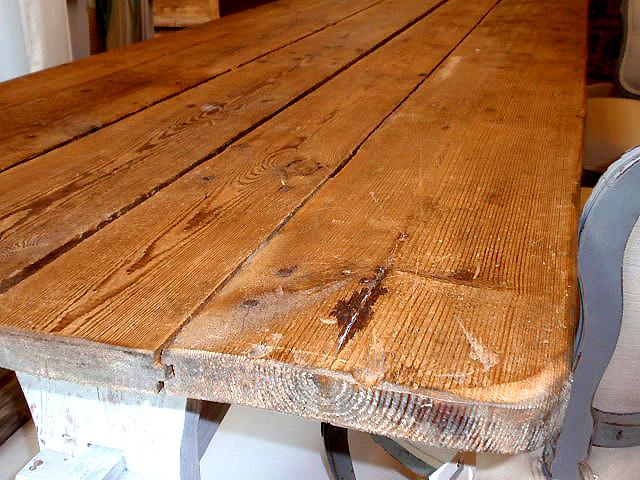 Wood Farmhouse Trestle Table Hudson Goods Blog