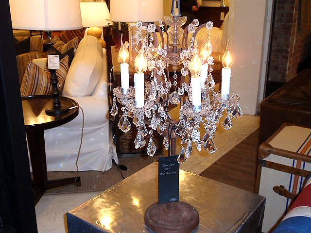 crystal chandelier table lamps hudson goods blog