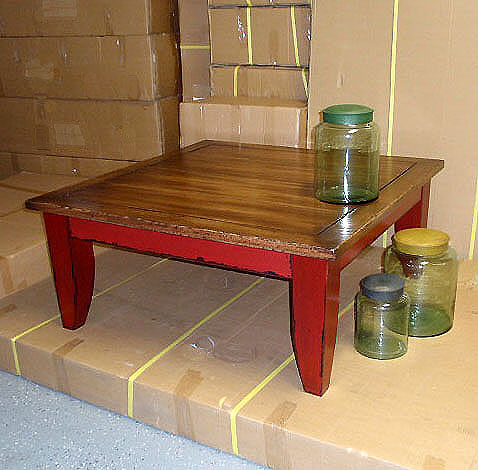 Painted coffee table ideas photograph pottery barn distres for Painted coffee table ideas
