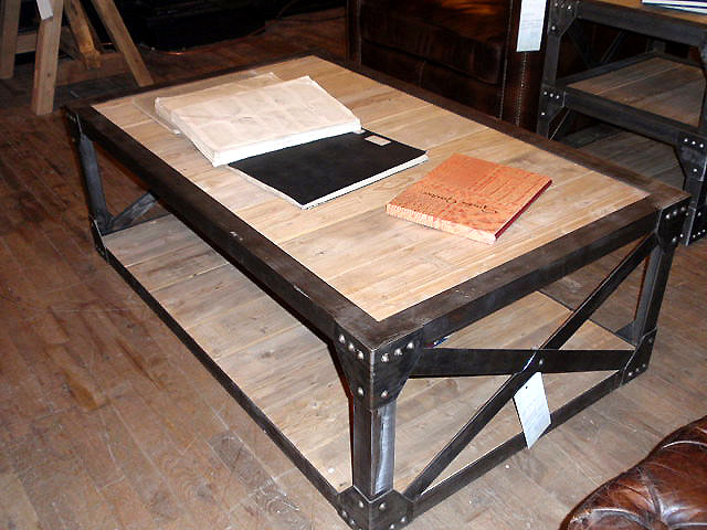 Hudson Goods Blog Vintage Industrial Furniture Wood Coffee Tables