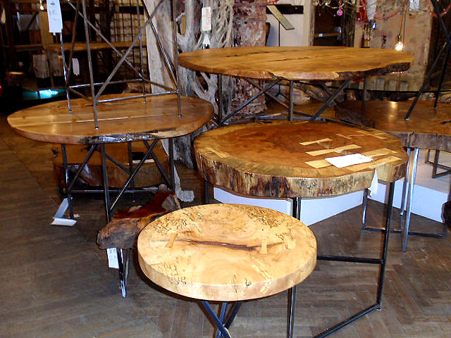Industrial Salvage Into Furniture