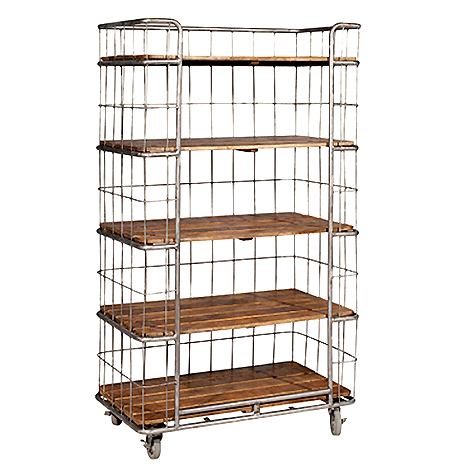 bakers-rack-single-bookcase