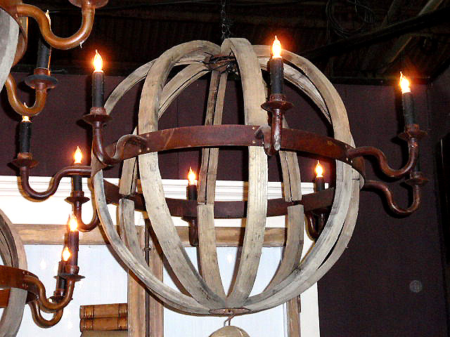 Wooden Chandelier - Indoor  Outdoor Lighting - Compare Prices