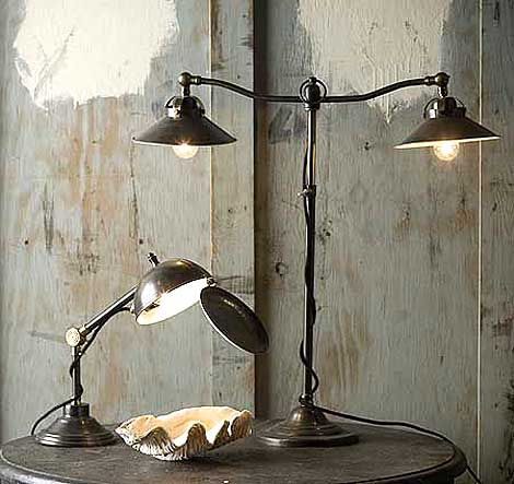 library lamp