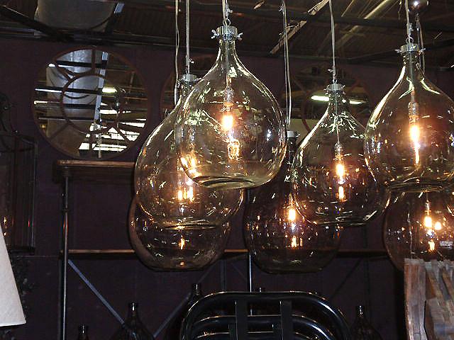 industrial glass bottle lighting hudson goods blog