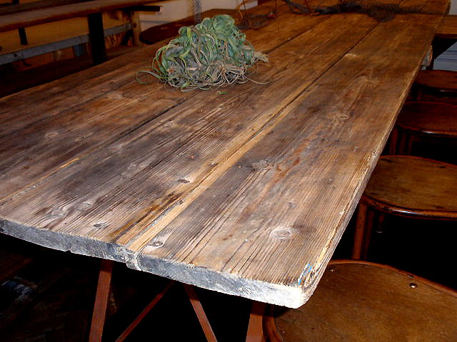 Hudson Goods Blog Vintage Industrial Furniture Reclaimed Wood Dining Tables